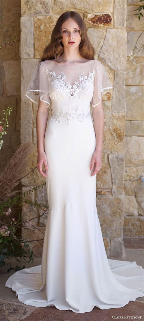 Claire Pettibone Romantique Spring 2018 Wedding Dresses