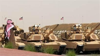 Kuwait Invasion Iraq Liberation Army Tanks Military
