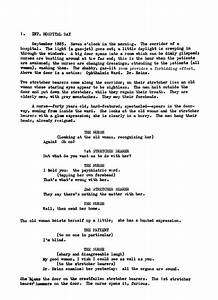 pin film script format on pinterest With movie scripts template
