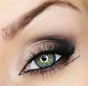 Maquillage Mariage Yeux Vert : maquillage kaki yeux verts ~ Nature-et-papiers.com Idées de Décoration