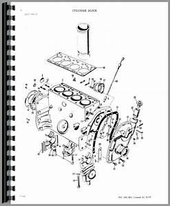 Massey Ferguson 30b Industrial Tractor Parts Manual