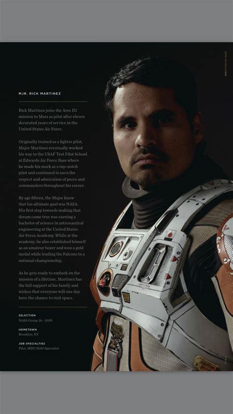 Major Rick Martinez | The martian, The martian film, Space ...