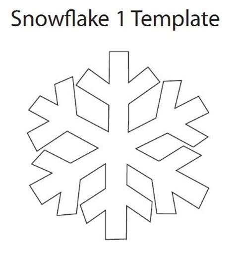 Snowflake paper chain template costumepartyrun best 25 snowflake template ideas on pinterest paper maxwellsz