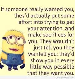 Despicable Me Minions Funny Quote