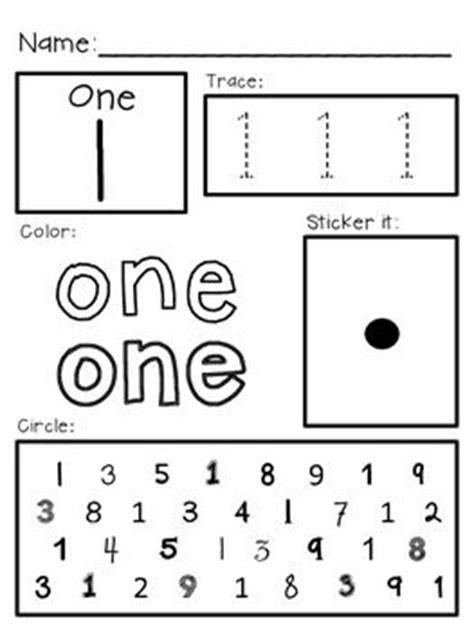 super simple math number worksheets numerals