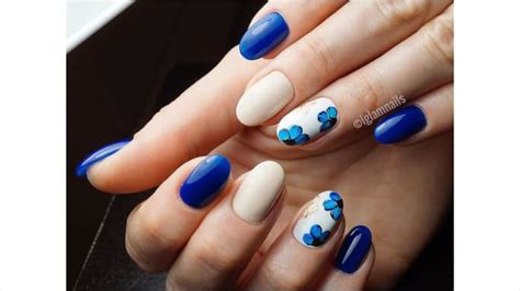 inspirasi nail art tema bunga  bikin hari kamu