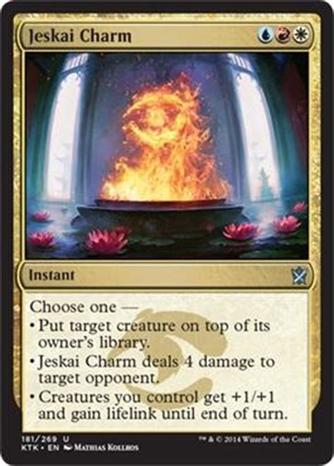 Jeskai Charm (via @wizardsmagic)  The Rumor Mill Magic