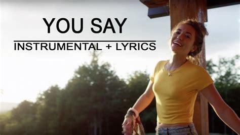 lauren daigle piano instrumental lyrics
