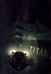 Titanic Ship Underwater