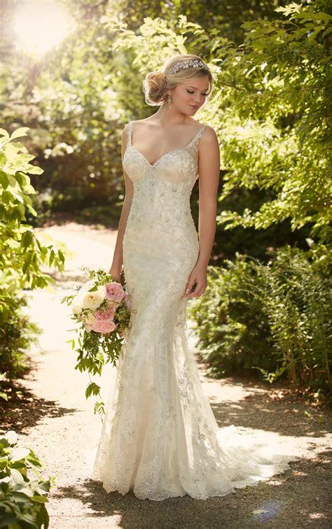 Designer Lace Wedding Dress I Essense Of Australia