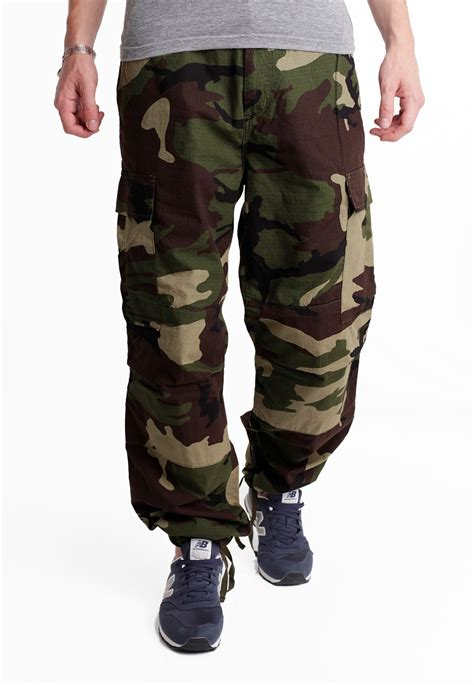 carhartt wip cargo columbia ripstop camo green rinsed pants streetwear shop impericoncom uk