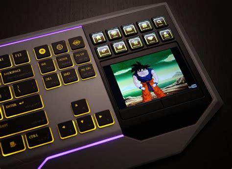 star wars computer keyboard  lcd touchpad gadgetsin
