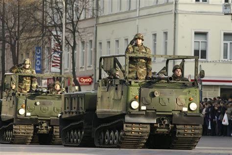 world military  police forces latvia