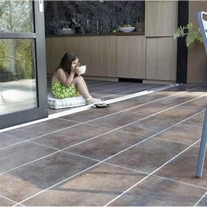 terrasse en carrelage exterieur nos conseils With photo carrelage terrasse exterieur