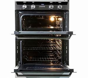 KENWOOD KD1701SS Electric Built-under Double Oven ...