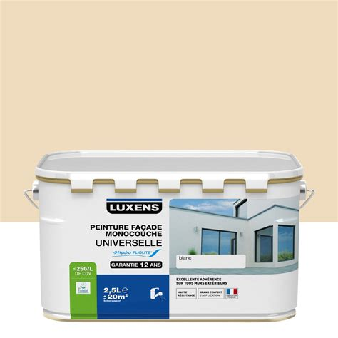 peinture fa 231 ade universelle luxens 2 5 l leroy merlin