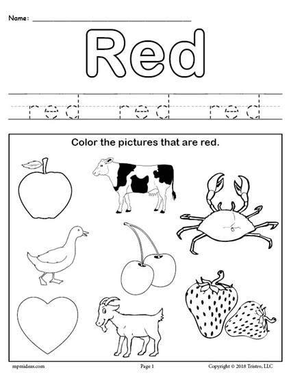 free color worksheet daycare ideas color 828 | 0a31da9c257611a698e2c55bc72fe1bf