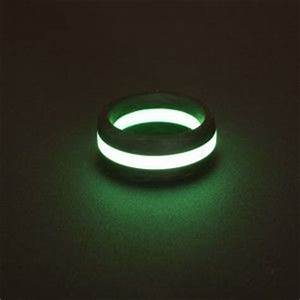 A glow in the dark ring perfect geek gadgets i love for Glow in the dark wedding rings