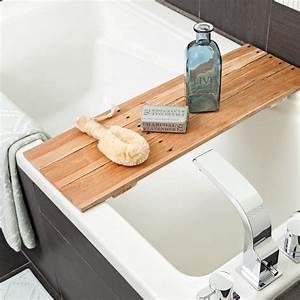 Pont De Baignoire Bois : diy pont de bois pour le bain salle de bain ~ Premium-room.com Idées de Décoration
