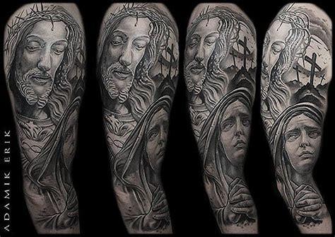 tatouage realiste par adamik erik  inkage