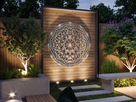 4 elements metal wall art metal wall decor air, fire, earth, water. Tesseract Sacred Geometry Outdoor Metal Wall Art Sculpture, Extra Large Metal Wall Art, Modern ...
