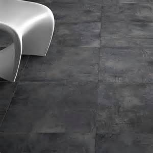 Carrelage Grand Carreaux Pas Cher by Carrelage Sol Aspect B 233 Ton Nice Anthracite 80x80 Cm