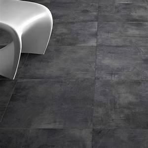 Joint Pour Carrelage : carrelage sol exterieur nice anthracite grip aspect beton ~ Melissatoandfro.com Idées de Décoration