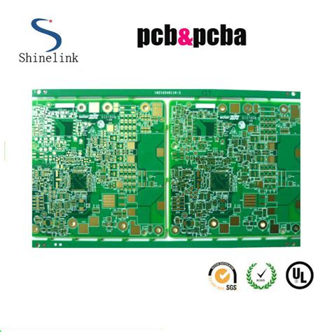 Layers Multilayer Printed Circuit Board With