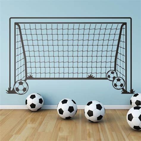 Kinderzimmer Gestalten Fussball by Kinderzimmer Wandtattoo Fussballtor 0 Kinder Kinder