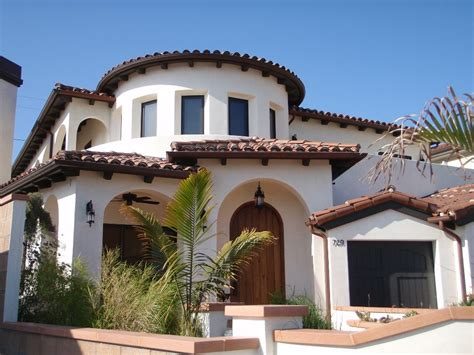 Spanish House Exterior