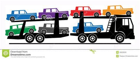 truck car black car carrier clip art clipground