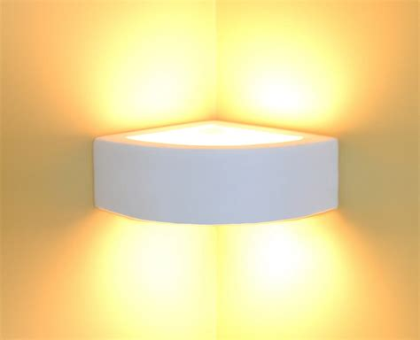 Wall Lamp Light Ceramic Style 1002 Corner Lamp Leds Blue Grey Dining Room Affordable Tables Table Measurements Chairs For Contemporary Set Macys Chair Rail Molding Mirrored