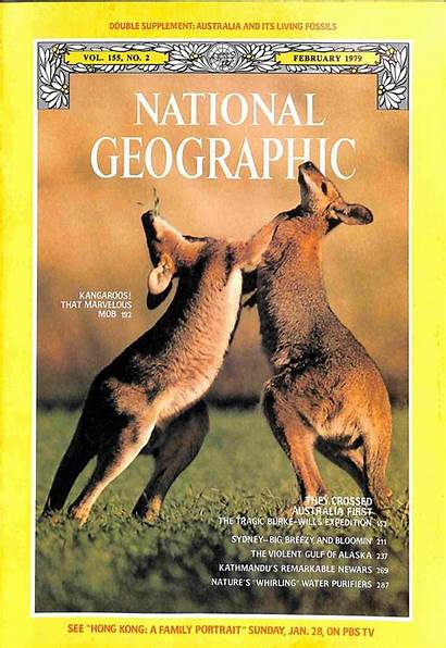 Geographic National 1979 February Magazine Seller Issues