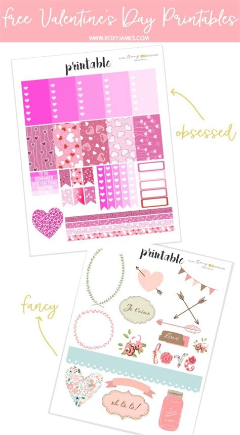 Download free svg icons and use them in your projects. Free Valentine's Day Sticker Printables | Printable ...