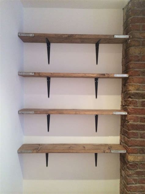 scaffold board shelving   brought