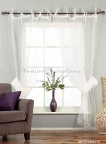 white sheer curtains ideas white tie top sheer tissue With need working window treatment ideas