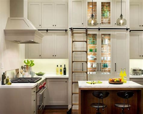 Seagrass Barstools   Cottage   kitchen   The House That AM