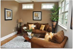 brown livingroom how to add warmth to a room solutions for selling part iv