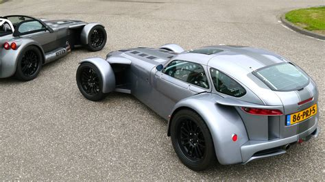 Donkervoort D8 GTO, first drive - YouTube