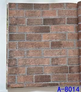 Buy Retro imitation brick pattern wallpaper wall brick ...