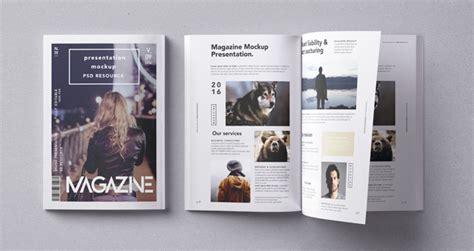 psd magazine mockup vol psd mock  templates pixeden