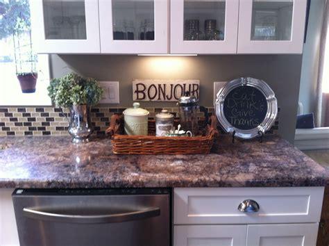 Kitchen Counter Decor  A Pretty Home Is A Happy Home