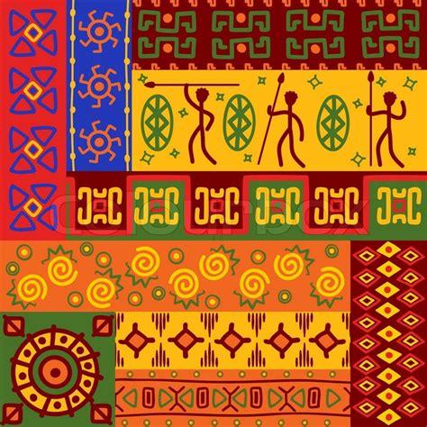 teppich afrikanisches design abstrakte afrikanische ethnische vektorgrafik colourbox