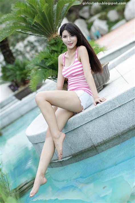 Xxx Nude Girls Cha Sun Hwa White And Pink