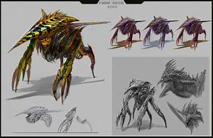 Jaekyung Jaguar Lee: Starship Troopers Bugs (WIP) | Alien ...