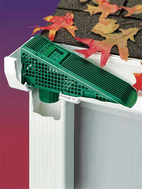 roofing gutter guard lowes  maximum water flow aasp