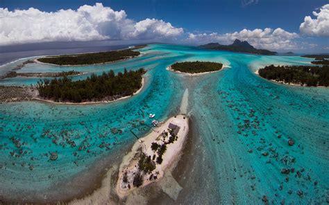 Bora Bora Beautiful Island In French Polynesia South