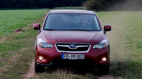 auto ladegerät test subaru xv im autotest die allradexperten schlagen mit einem kompakt suv zur 252 ck