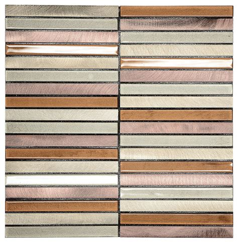 Metal Adhesive Backsplash Tiles by Modern Brown Self Adhesive Glass Metal Backsplash Tiles