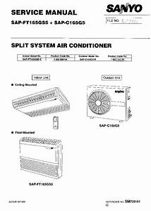 Sanyo Sap Ft165gs5 Sap C165g5 Service Manual Download  Schematics  Eeprom  Repair Info For